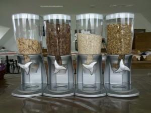 4 - Cereais (granola, aveia, sucrilhos, sucrilhos com chocolate)